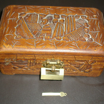 My Mother's Chest Box with Unusual Lock - Furniture