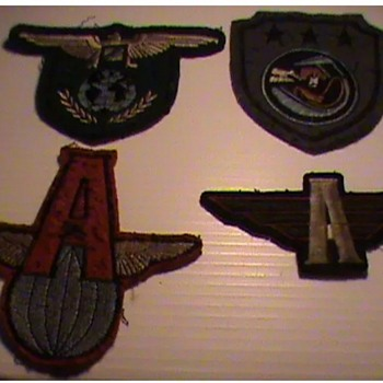 WW2 USAAF Unknown Patches??