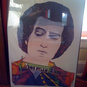Is this a Jan Sawka Bob Dylan Poster Can't Find it Anywhere Online!!! - Posters and Prints