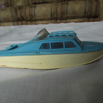 Corgi toys boat