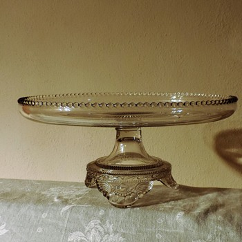 EAPG Colorado Cake Stand by U.S glass