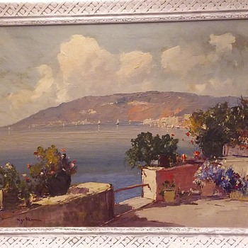 Vintage Estate Painting - Visual Art
