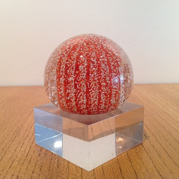 STRATHEARN SEA URCHIN P3 - Art Glass