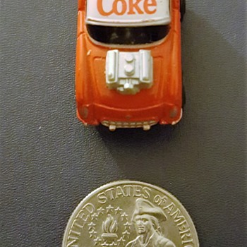 Little Coke car.