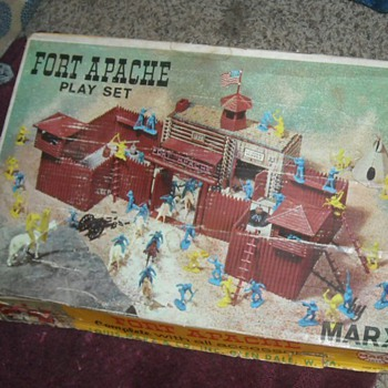Marx Fort Apache Playset #3681
