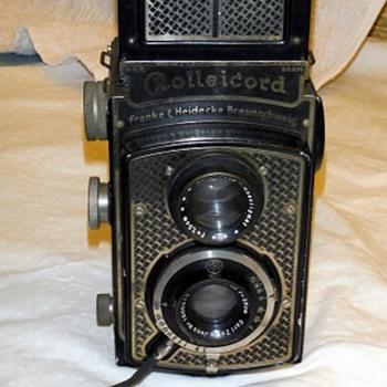 Rare Antique Vintage Camera Rolleicord Franke & Heidecke Braunschweig Germany