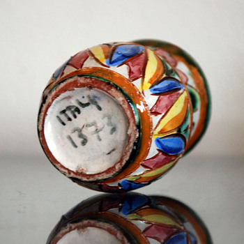 Small Italian Vase - Art Pottery