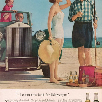1954 Schweppes Advertisements - Advertising