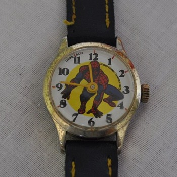 Dabs & C0. Spiderman Wrist Watch - Wristwatches