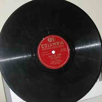 Frank Sinatra & Don Cherry 78RPM Records from 1930's