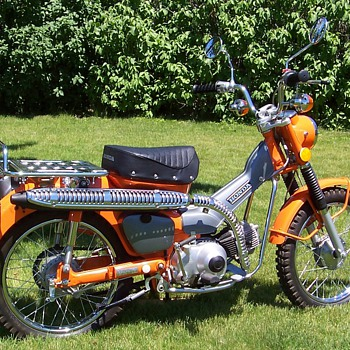 1974 Honda CT90 - Motorcycles