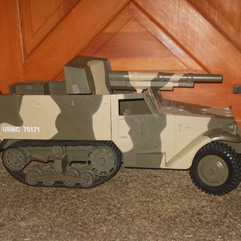 POST #1,000 GI Joe 1/6th Scale Half Track POST #1,000