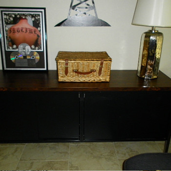 Art Metal Inc. mid-century modern credenza 