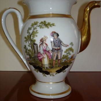 German Porcelain Teapot