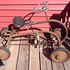 EARLY 4 WHEEL MYSTERY BIKE....