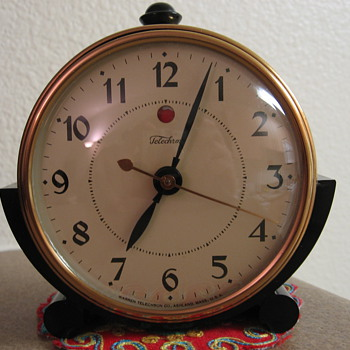 "The ""Telebell"" Telechron Clock - Art Deco"