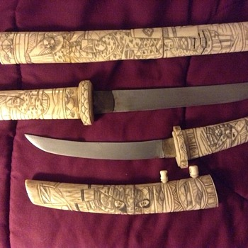 Immortal Gods Bone Knives