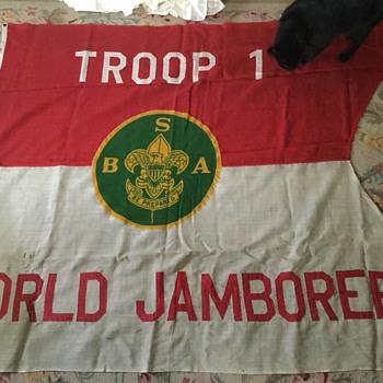 1933 world jamboree flag