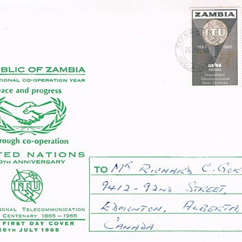 Zambia Historic Covers - Stamps