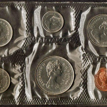 1985 - Canada Proof-like Coins Set