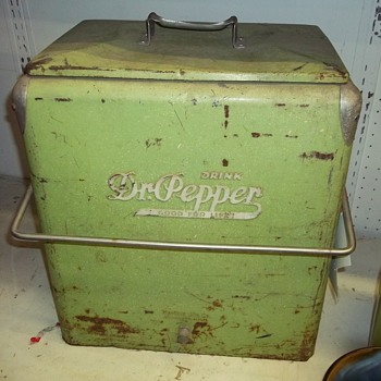 DR.PEPPER COOLER