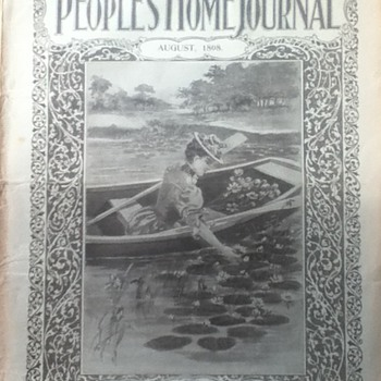 The People's Home Journal - August 1898 - Paper