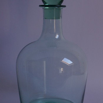 Whitefriars Emerald Green Decanter