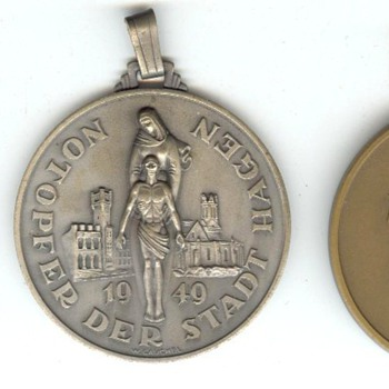 Hagen Emergency Offering Medals - Military and Wartime