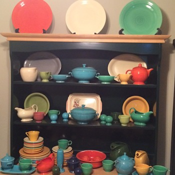 Vintage Fiesta Ware Collection