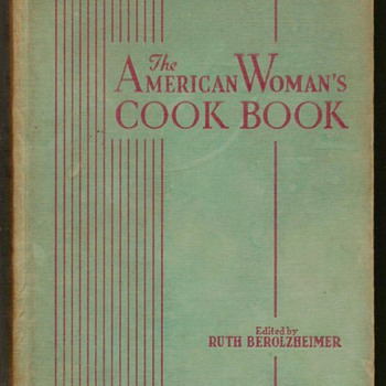 1943 - The American Women&#039;s Cookbook - Books