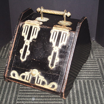 "Art Nouveau ""COAL BOX"" Circa LATE 1800's - Early 1900's"