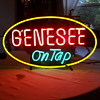 Vintage Genesee Beer Neon Sign