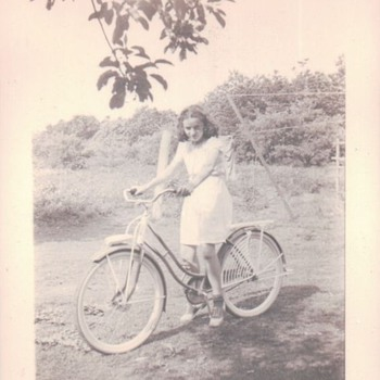 My Mother's Bicycle 1941 - Sporting Goods