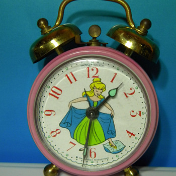 1969 Phinney-Walker(Hamilton) Cinderella Alarm Clock - Clocks