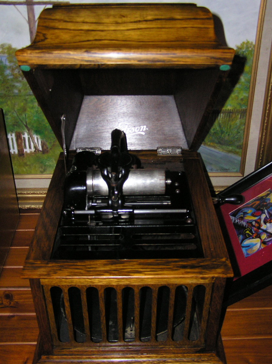 Edison amberola 30 4 minute cylinder record player for Edison home show