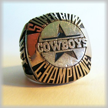 1992 - SUPER BOWL CHAMPIONS - RING ( Sterling ) Dallas Cowboys - Fine Jewelry