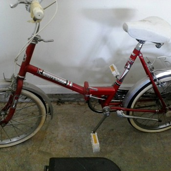 1970's Universal Folding Bike - Outdoor Sports