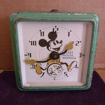 1933 UK Variant Mechenical Mickey Mouse Clock - Clocks