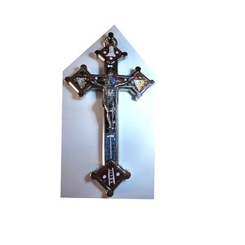 (Micro) Mosaic cross  - Fine Jewelry