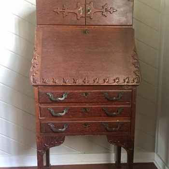 Antique Secretary Desk- need info on this family heirloom - Furniture