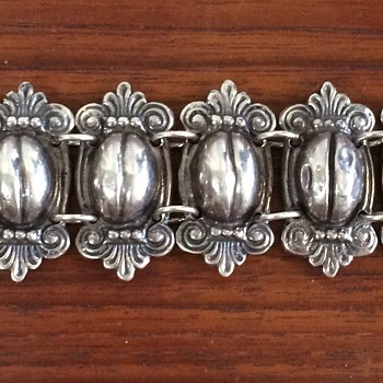Vintage Mexico Silver Bracelets