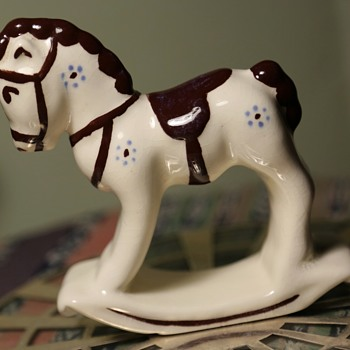 Rocking Horse - Art Pottery