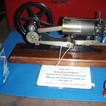 Cut-Away Gasoline Engine Teaching Aid