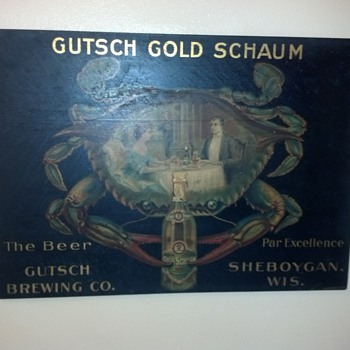 Gutsch Brewing Co., Sheboygan, Wisconsin - Breweriana