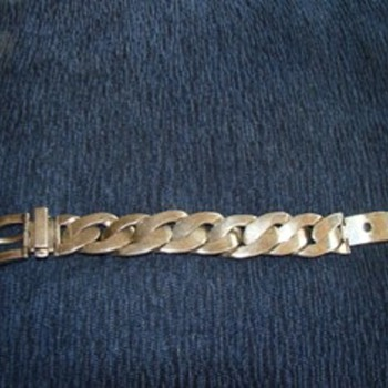 My favorite Tiffany Curb Bracelet.  