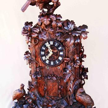 Emilian Wehrle 8 Horn Trumpeter Clock - Clocks