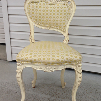Victorian French Vanity Chair?