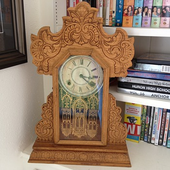 Kitchen clock - belonged to my grandfather's sister