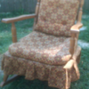 rocking chair from the 60&#039;s