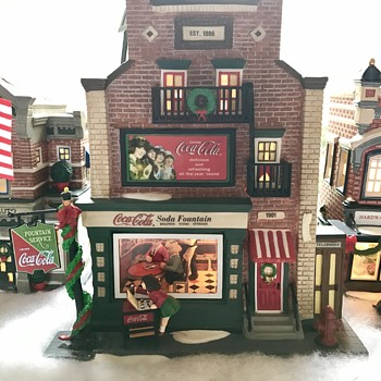 Dept 56 Christmas village.